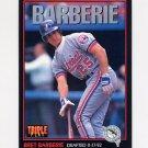 1993 Donruss Triple Play Baseball #195 Bret Barberie - Florida Marlins