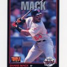1993 Donruss Triple Play Baseball #180 Shane Mack - Minnesota Twins