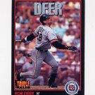 1993 Donruss Triple Play Baseball #137 Rob Deer - Detroit Tigers