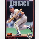 1993 Donruss Triple Play Baseball #116 Pat Listach - Milwaukee Brewers