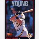 1993 Donruss Triple Play Baseball #072 Kevin Young - Pittsburgh Pirates
