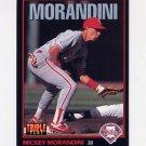 1993 Donruss Triple Play Baseball #053 Mickey Morandini - Philadelphia Phillies