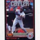 1993 Donruss Triple Play Baseball #044 Milt Cuyler - Detroit Tigers