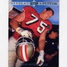 1995 Upper Deck Football Special Edition #SE21 Harris Barton - San Francisco 49ers
