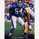 1995 Upper Deck Football #294 Carlton Bailey - Carolina Panthers