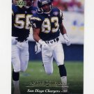 1995 Upper Deck Football #281 Andre Coleman - San Diego Chargers