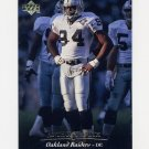 1995 Upper Deck Football #280 Anthony Smith - Oakland Raiders