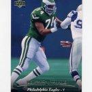 1995 Upper Deck Football #258 Bernard Williams - Philadelphia Eagles