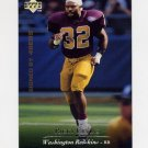 1995 Upper Deck Football #203 Ricky Ervins - San Francisco 49ers