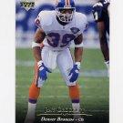1995 Upper Deck Football #194 Ray Crockett - Denver Broncos
