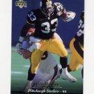 1995 Upper Deck Football #193 Byron Bam Morris - Pittsburgh Steelers