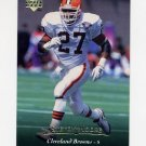 1995 Upper Deck Football #191 Stevon Moore - Cleveland Browns