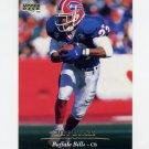 1995 Upper Deck Football #185 Jeff Burris - Buffalo Bills