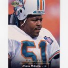 1995 Upper Deck Football #159 Bryan Cox - Miami Dolphins