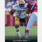 1995 Upper Deck Football #153 Willie Roaf - New Orleans Saints