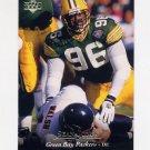 1995 Upper Deck Football #123 Sean Jones - Green Bay Packers