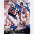 1995 Upper Deck Football #113 Ronnie Harmon - San Diego Chargers