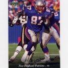 1995 Upper Deck Football #076 Ben Coates - New England Patriots