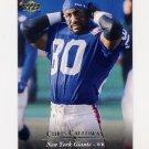 1995 Upper Deck Football #061 Chris Calloway - New York Giants