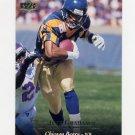 1995 Upper Deck Football #037 Jeff Graham - Chicago Bears