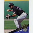 1993 Leaf Baseball #415 Eric Young - Colorado Rockies