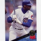 1993 Leaf Baseball #413 Willie Wilson - Chicago Cubs