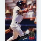 1993 Leaf Baseball #399 Luis Polonia - California Angels