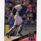 1993 Leaf Baseball #357 Greg Olson - Atlanta Braves