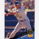 1993 Leaf Baseball #264 Pat Listach - Milwaukee Brewers