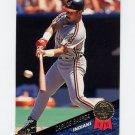 1993 Leaf Baseball #233 Carlos Baerga - Cleveland Indians