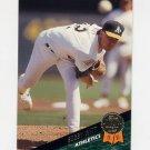 1993 Leaf Baseball #204 Bobby Witt - Oakland A's