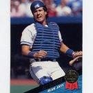 1993 Leaf Baseball #157 Pat Borders - Toronto Blue Jays