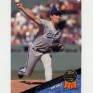 1993 Leaf Baseball #124 Jeff Montgomery - Kansas City Royals