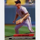 1992 Ultra Baseball #595 Cory Snyder - San Francisco Giants