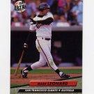 1992 Ultra Baseball #591 Mark Leonard - San Francisco Giants