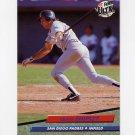 1992 Ultra Baseball #583 Craig Shipley - San Diego Padres