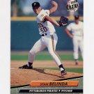 1992 Ultra Baseball #550 Stan Belinda - Pittsburgh Pirates