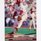 1992 Ultra Baseball #546 Barry Jones - Philadelphia Phillies