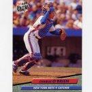 1992 Ultra Baseball #534 Charlie O'Brien - New York Mets