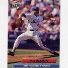 1992 Ultra Baseball #531 Paul Gibson - New York Mets