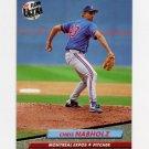 1992 Ultra Baseball #521 Chris Nabholz - Montreal Expos