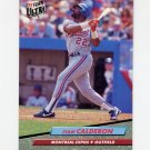 1992 Ultra Baseball #513 Ivan Calderon - Montreal Expos