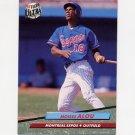 1992 Ultra Baseball #511 Moises Alou - Montreal Expos