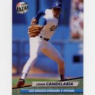 1992 Ultra Baseball #500 John Candelaria - Los Angeles Dodgers ExMt