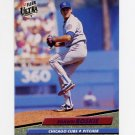 1992 Ultra Baseball #466 Shawn Boskie - Chicago Cubs