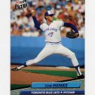 1992 Ultra Baseball #450 Tom Henke - Toronto Blue Jays