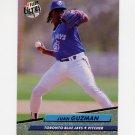 1992 Ultra Baseball #449 Juan Guzman - Toronto Blue Jays