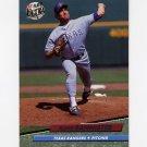 1992 Ultra Baseball #437 Floyd Bannister - Texas Rangers