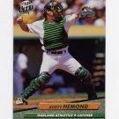 1992 Ultra Baseball #422 Scott Hemond - Oakland A's