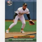 1992 Ultra Baseball #419 Mike Bordick - Oakland A's
